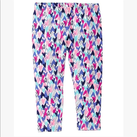 Gymboree Heart Leggings